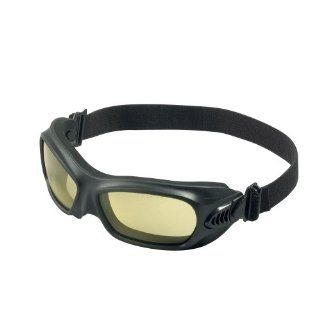 Jackson Safety V80 Wildcat Amber Anti Fog Lens Protection Goggle with Black Frame (Pack of 12)