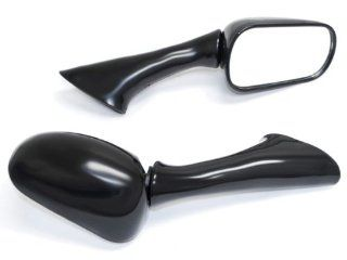 Honda CBR 600 F2 / 1000F / VFR 750F/800 FI Black OEM Stock Style Racing Mirrors   Left & Right Set 1990 1991 1992 1993 1994 1995 1996 1997 1998 1999 Automotive