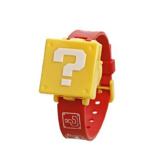 Nintendo New Super Mario Bros. Wii Children's Watch   Question Block Toys & Games