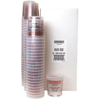 (Full Case of 100 each   32 Ounce PAINT MIXING CUPS) by Custom Shop   Cups have calibrated mixing ratios on side of cup BOX OF 100 Cups Automotive