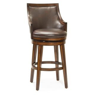 Hillsdale Lyman 26.5 in. Swivel Counter Stool   Bar Stools