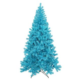 Vickerman Sky Blue Full Christmas Tree   Christmas Trees