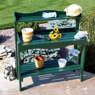 Prairie Leisure Gardeners Aspen Wood Potting Bench   Potting Benches