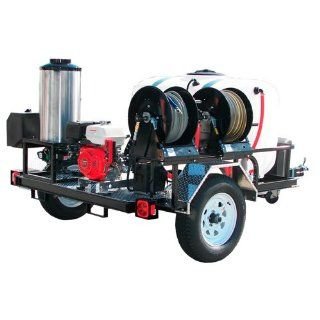 TRS401240HGTR2002HR Pressure Pro 4000 PSI (Gas Hot Water) Trailer Pressure Washer With Belt Drive  Hidrojet  Patio, Lawn & Garden
