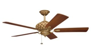 Kichler 300109CTO LaSalle 52 in. Indoor Ceiling Fan   Canyon Stone   Ceiling Fans