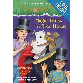 Magic Tricks from the Tree House A fun companion to Magic Tree House #50 Hurry Up, Houdini (A Stepping Stone Book(TM)) (9780449817919) Mary Pope Osborne, Natalie Pope Boyce, Sal Murdocca, Luiz Vilela Books