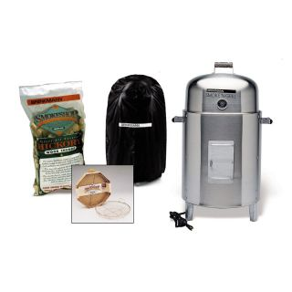 Brinkmann SmokeN Stainless Steel Electric Smoker Package   BBQ Smokers