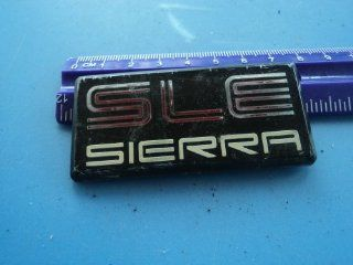"Gmc 1500 ""Sle Sierra "" Truck Emblem Side Door Fender  Other Products"