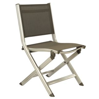 Kettler Basic Plus Folding Side Chair   Outdoor Dining Chairs