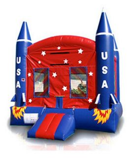 EZ Inflatables Spaceship Jumper Bounce House   Commercial Inflatables