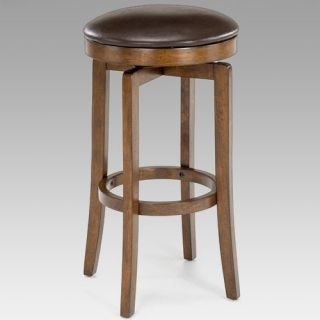 Hillsdale Brendan 25 in. Backless Swivel Counter Stool   Bar Stools