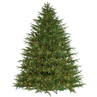 7.5 ft. x 67 in.   Belvedere Fir   3372 Realistic Molded Tips   850 Clear Mini Lights   Barcana Artificial Christmas Tree