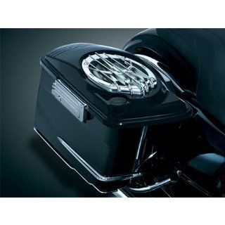 Kuryakyn 878 Injection Molded Saddlebag Lids With 6 x 9 Speakers For Harley Davidson Automotive