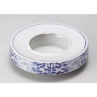 decorative tray kbu858 19 112 [7.09 x 1.97 inch] Japanese tabletop kitchen dish 6.0 ashtray ashtray bamboo forest [18 x 5cm] interior inn restaurant restaurant business kbu858 19 112 Home & Kitchen