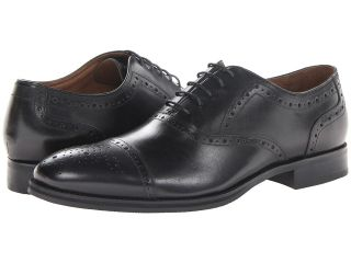 Johnston & Murphy Tyndall Cap Toe Mens Lace Up Cap Toe Shoes (Black)