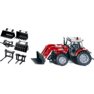 Massey Ferguson 894 Tractor with Front Loader Set Toys & Games