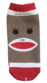 Women's Sock Monkey Ankle Socks