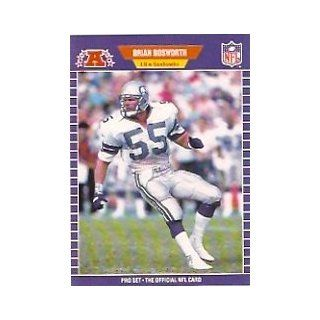 1989 Pro Set #391B Brian Bosworth COR/(Listed by team nick /name on front) Sports Collectibles