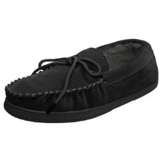 Boston Traveler Mens Faux Suede Mocassin Slippers Shoes