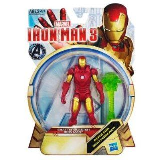 Marvel Iron Man 3 Shatterblaster Iron Man Figure