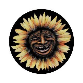 Sunflower Face Spare Tire Cover Automotive