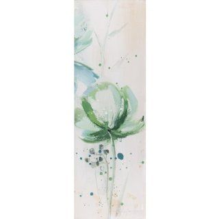 Yosemite Home Decor YG130369C Lime Flower III Abstract Hand Painted Artwork   Oil Paintings