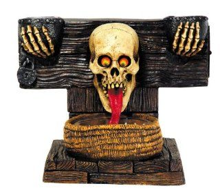 DOOR GREETER GHOUL HAUNTED HOUSE HALLOWEEN PROP DECOR Welcome Scary Graveyard MR124014 Toys & Games