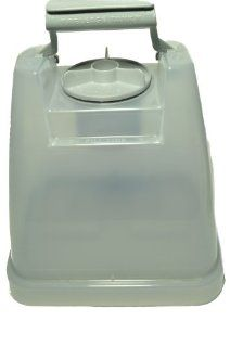 Hoover Steam Cleaner Solution Tank with Lid, Fits Ultra Steamer Models, tank is square old style Model F 5912 900, Hoover Part Number 42272134   Carpet Steam Cleaner Accessories