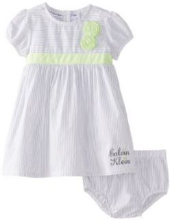Calvin Klein Baby Girls Infant Dress with Panty Clothing