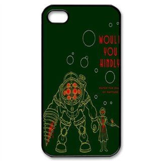 CTSLR Play & Game Series Protective Hard Case Cover for iPhone 4 & 4S   1 Pack   BioShock Infinite   6 Cell Phones & Accessories