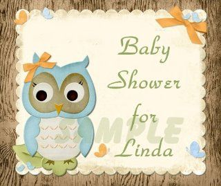 Owl Baby Shower Edible Image Frosting Sheet/cake Topper  Decorative Cake Toppers