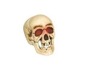 DELUXE HALLOWEEN RED LIGHT SKELETON SKULL DECOR *REALISTIC* Toys & Games