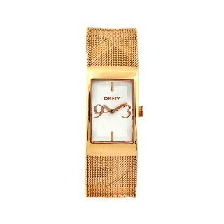 DKNY Women's NY4542 Essentials Rose Goldtone Stainless Steel Mesh Watch Watches