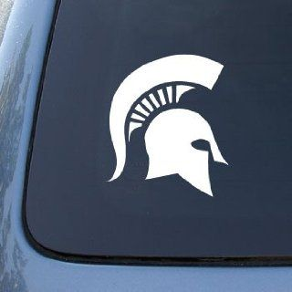 Michigan State Spartans   Car, Truck, Notebook, Vinyl Decal Sticker #2719  Vinyl Color White Automotive