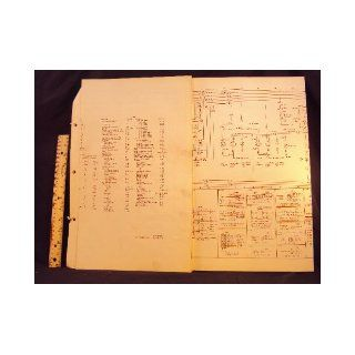 1974 74 FORD Pinto Electrical Wiring Diagrams Manual ~Original Ford Motor Company Books