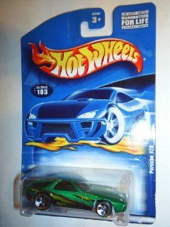 #2001 103 Porsche 928 Large/Small Wheels Collectible Collector Car Mattel Hot Wheels 164 Scale Toys & Games