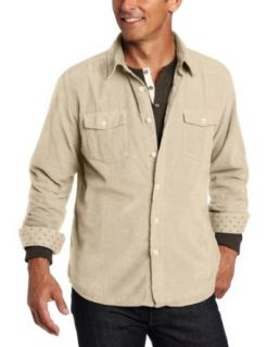 Quiksilver Waterman Men's Redwook Creek Woven Shirt, Khaki, Small at  Men�s Clothing store
