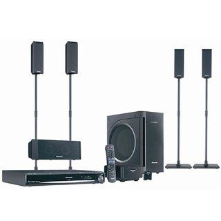 Panasonic SC PT954 900W 1080p DVD Home Theater System with Kelton Subwoofer, iPod Universal Dock and Wireless Rear Speaker Electronics