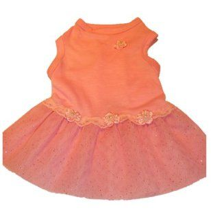 Canine Brands Worldwide Dog Wedding Dress, XX Small, Pink  Pet Dresses