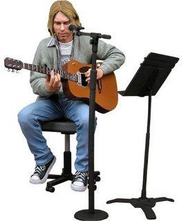 Kurt Cobain (Nirvana) 'Unplugged' 7 Inch Action Figure Toys & Games