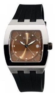 Davosa Men's Cosmopolitan Analogue Watch 16242265 with Brown Dial and 40 mm Stainless Steel Case Watches