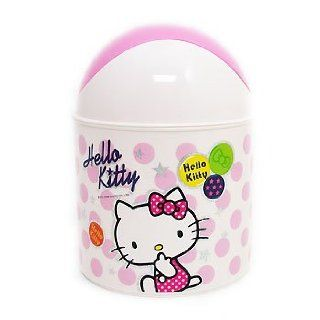 Sanrio Hello Kitty Mini Trash Can Dustbin Ash bin Korea Toys & Games