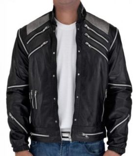 CosplayhiT Men's Michael Jackson Beat It Jacket at  Men�s Clothing store