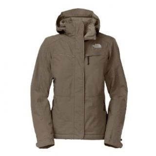 The North Face Womens Inlux Insulated Jacket Weimaraner Brown Size X Large