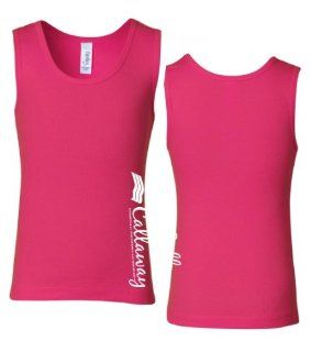Callaway Cars 980.93.9551.S Fuchsia Small Girls' 1X1 Ribbed Tank Top Automotive