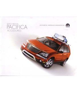 2006 Chrysler Pacifica Accessories Sales Brochure Literature Book Options Colors Automotive