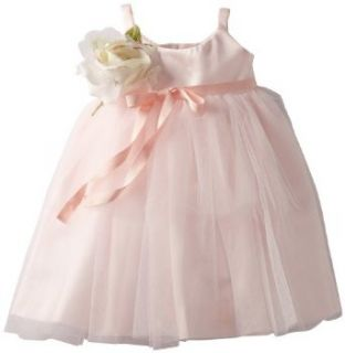 Us Angels Baby Girls Infant Ballerina Inspired Dress, Blush Pink, 18 Months Infant And Toddler Special Occasion Dresses Clothing