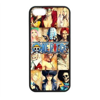 Japanese Anime One Piece Design Skin Iphone 5 5S TPU Hard Cover Case Cell Phones & Accessories