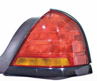 PASSENGER SIDE TAIL LIGHT Ford Crown Victoria ASSEMBLY; RH; BLACK with SPORT Automotive