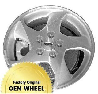FORD TAURUS 16X6 5 SPOKE Factory Oem Wheel Rim  MACHINED FACE SILVER   Remanufactured Automotive